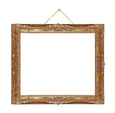 Retro frame on rope Stock Images