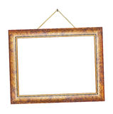 Retro frame on rope Royalty Free Stock Photography