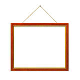 Retro frame with string Royalty Free Stock Images