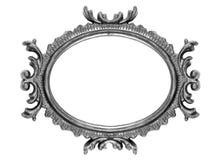 Retro Frame van de Ellips van de Heropleving Oude royalty-vrije stock fotografie