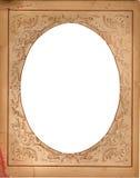 Retro frame van Grunge. Royalty-vrije Stock Foto's