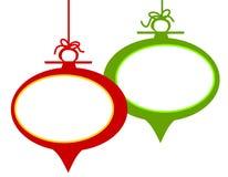 Retro Frame van het Ornament van Kerstmis Stock Fotografie