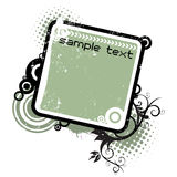 Retro frame vector Royalty Free Stock Images