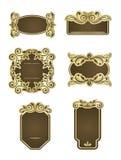 Retro frames Royalty Free Stock Photo