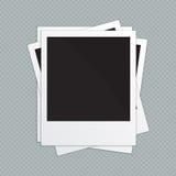 Retro Frames van de Foto Vector illustratie stock illustratie