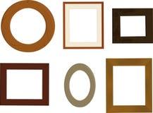 Retro frameworks Stock Image
