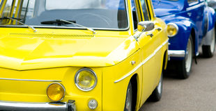 Retro french car Royalty Free Stock Images