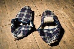 Retro french slipper Stock Image