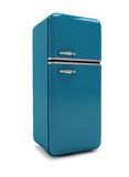 Retro fridge Royalty Free Stock Image