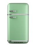 Retro frigorifero Fotografia Stock