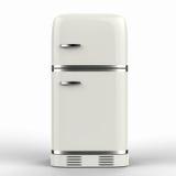 Retro frigorifero di progettazione Fotografia Stock Libera da Diritti