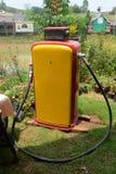 Retro fuel dispenser Royalty Free Stock Photo