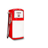 Retro fuel dispenser Royalty Free Stock Photography