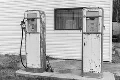 Retro fuel tanks Stock Photos