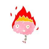 retro fumetto di emicrania royalty illustrazione gratis