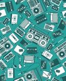 Retro- Funk Lizenzfreie Stockfotografie