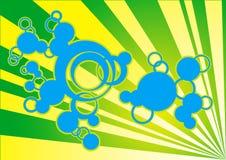 Retro Funky Illustratie Royalty-vrije Stock Afbeeldingen
