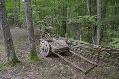 Retro furgon Obrazy Stock