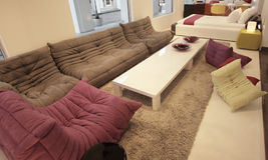 Retro furniture Royalty Free Stock Photo