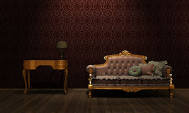 Retro furniture Royalty Free Stock Photos