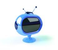 Retro futuristic tv Royalty Free Stock Image
