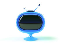 Retro futuristic tv Stock Photography
