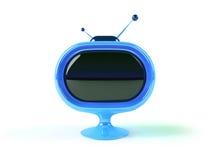 Retro futuristic tv Stock Photography