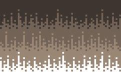 Retro fyrkantiga kvarter bakgrund, PIXELbakgrund, brun färg för abstrakt begrepp för designeps för 10 bakgrund vektor för tech Royaltyfria Bilder