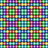 Retro Games Background. 3d dots reminding of old games Royalty Free Stock Image