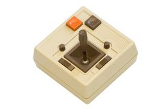 Retro Gaming Joystick Royalty Free Stock Images