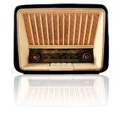 retro gammal radio Arkivfoto