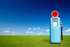 Retro gas pump Stock Image