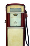 Retro Gas Pump. Isolation Of A Vintage Gas Station Pump Royalty Free Stock Photography