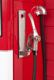 Retro gas station pump Stock Images