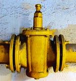 Retro gas valve Stock Images