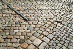 retro gata för gammal trottoar Royaltyfri Foto