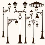 retro gata för lampa Royaltyfri Foto