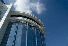Retro- Gebäude Lizenzfreies Stockbild
