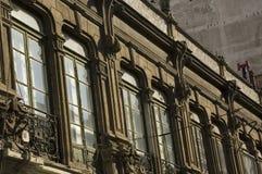 Retro- Gebäude in Griechenland Lizenzfreie Stockfotos