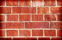 Retro- gefilterter Hintergrund gemacht von den alten Ziegelsteinen Lizenzfreies Stockfoto