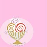 Retro gelato Fotografia Stock