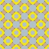 Retro- gelber Hintergrund Lizenzfreie Stockbilder