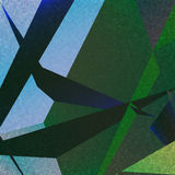 Retro geometric background with colorful triangles Royalty Free Stock Photos