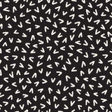 Retro geometric line shapes seamless patterns. Abstract jumble textures. Black and white scattered shapes. Retro geometric line shapes seamless patterns. Hipster Stock Photography