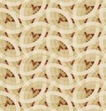 Retro geometric mosaic seamless pattern Stock Photography