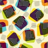 Retro geometric pattern Royalty Free Stock Images
