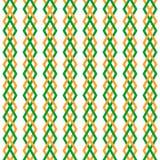 Retro geometric pattern Royalty Free Stock Image