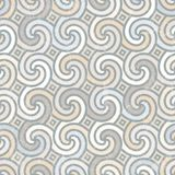 Retro geometric pattern. Stock Photos