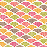 Retro geometric pattern Stock Photography