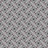 Retro geometric pattern in warm tones. Simple geometric pattern of triangles in retro style in warm tones Stock Illustration
